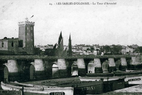 Tour Arundel _ Archives Municipales des Sables d'Olonne